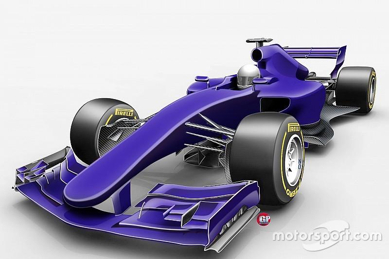 Tech analyse: 'snelste F1-bolides ooit' voor 2017 onder de loep