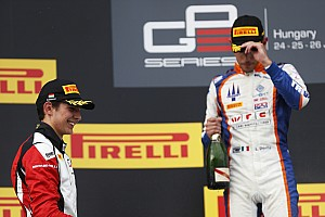 GP3 Interview Ocon - Ghiotto et Trident ont porté réclamation,