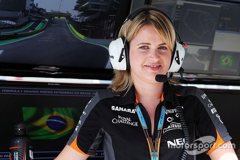 Bernadette Collins - Ingénieure chez Force India