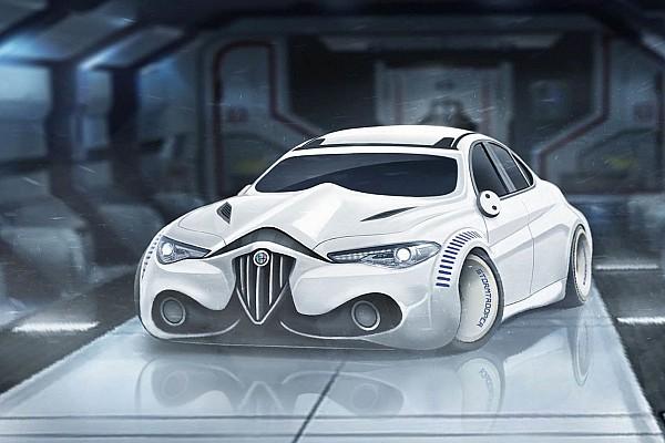 El poder de la 'fuerza': autos de Star Wars