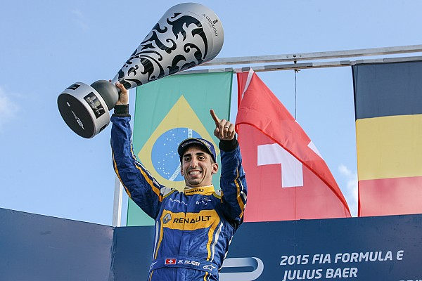 Formel E Punta del Este ePrix: Buemi rast von Startplatz fünf zum Sieg