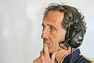 Prost reveló que Renault estuvo