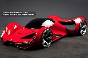 Автомобили Избранное Ferrari провела конкурс на лучший дизайн машины будущего