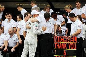 Fórmula 1 Últimas notícias Brawn: Schumacher foi fundamental para sucesso da Mercedes