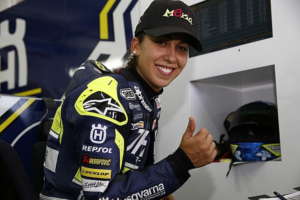 Maria Herrera est-elle la future star féminine du MotoGP?
