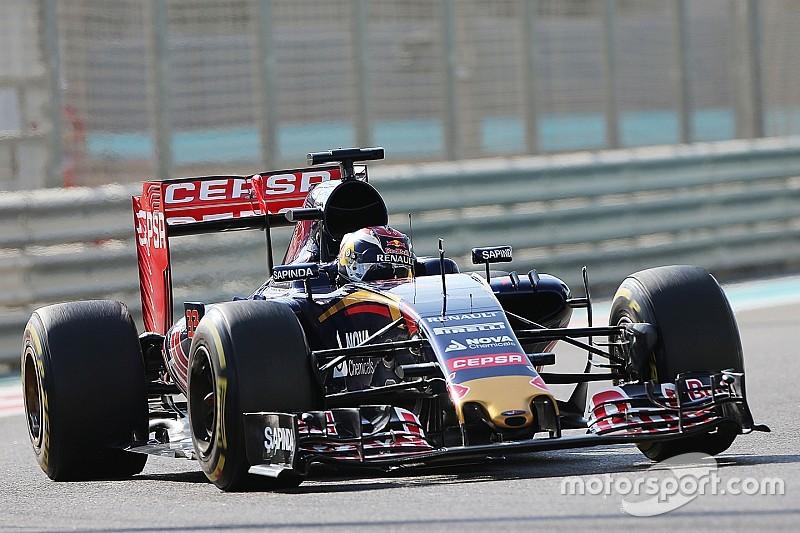 Une monoplace allongée pour Toro Rosso en 2016
