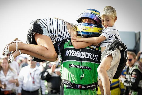 IndyCar Rétro 2015 - L'entreprise de démolition de Sébastien Bourdais à Milwaukee