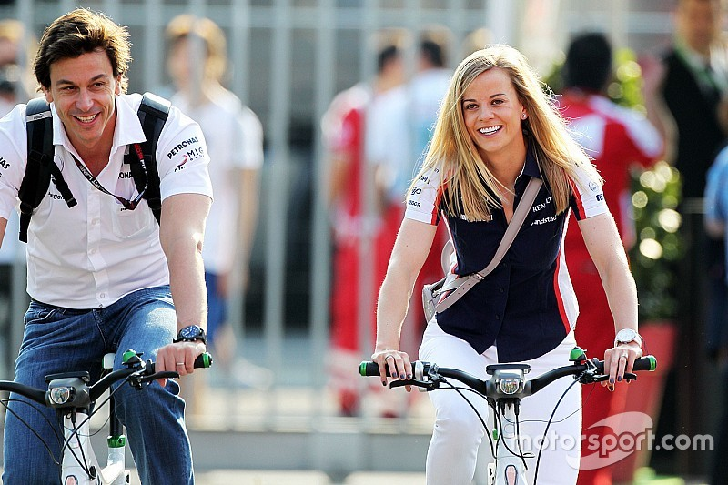 F1 perdeu chance de ter Susie no grid, diz marido Toto Wolff