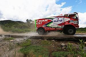 Dakar Tappa Dakar, Camion, Tappa 12: Man in fuga, Iveco in difesa