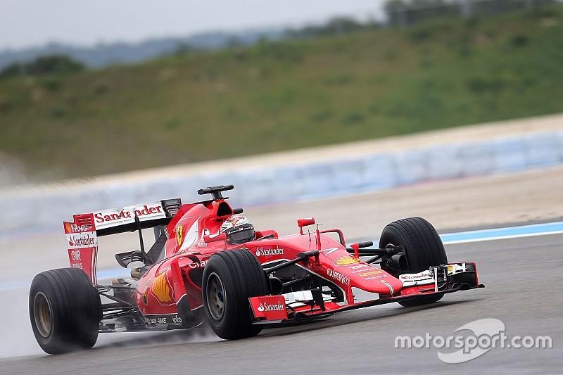 """Raikkonen: """"Ferrari kan leren van regenbandentest"""""""