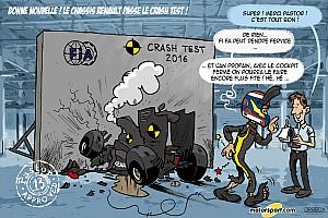 Formule 1 Contenu spécial L'humeur de Cirebox - Pastor approuve le crash-test Renault!
