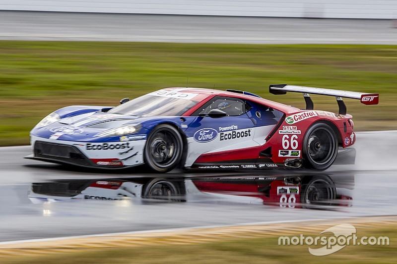 Ford domina en la segunda práctica en Daytona