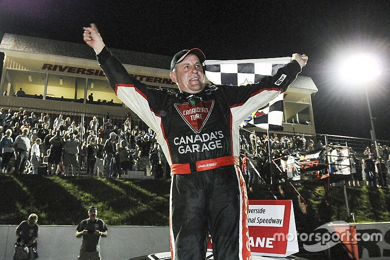 Scott Steckly - NASCAR Canada series' champion