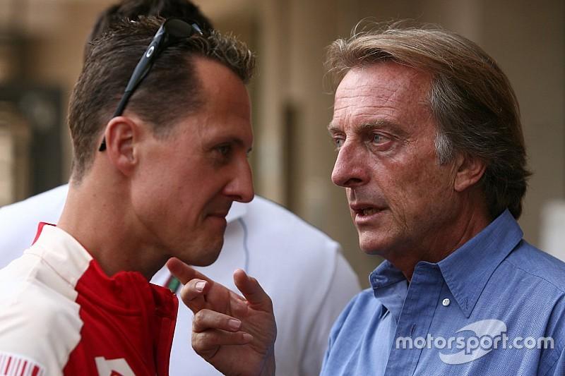"Montezemolo says he has no ""good news"" on Schumacher"