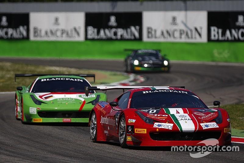La AF Corse schiera tre vetture fisse nel GT Open