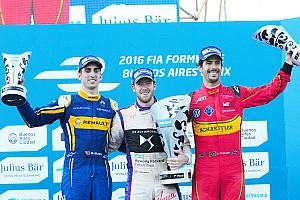Formula E Reporte de la carrera Bird resistió a Buemi para ganar en Buenos Aires