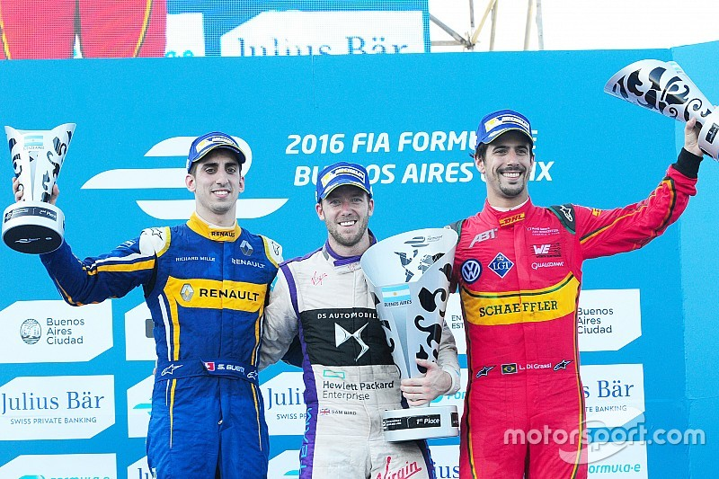 """布宜诺斯艾利斯ePrix:伯德阻止布耶米达成""""Last to Win"""""""