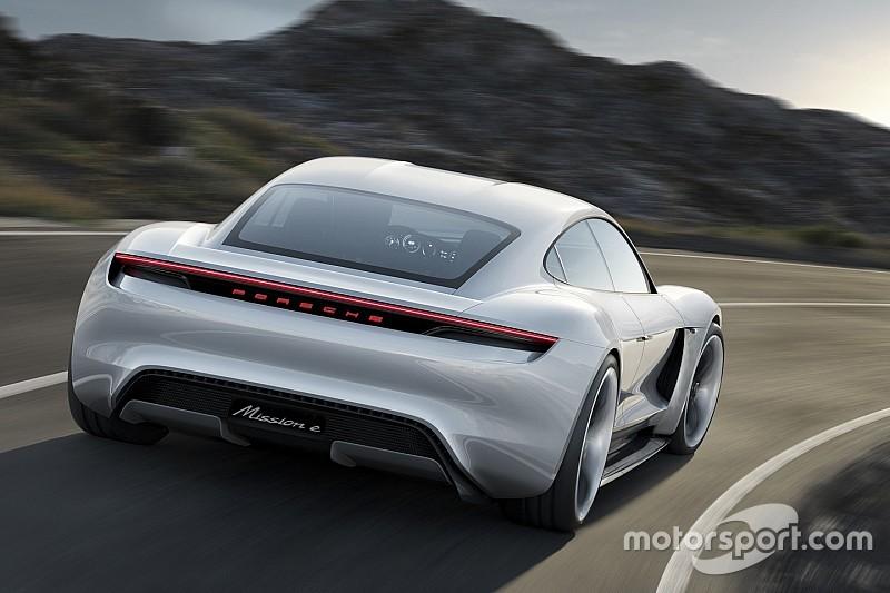 'Porsche ontwikkelt eigen chassis voor elektrische supercar'