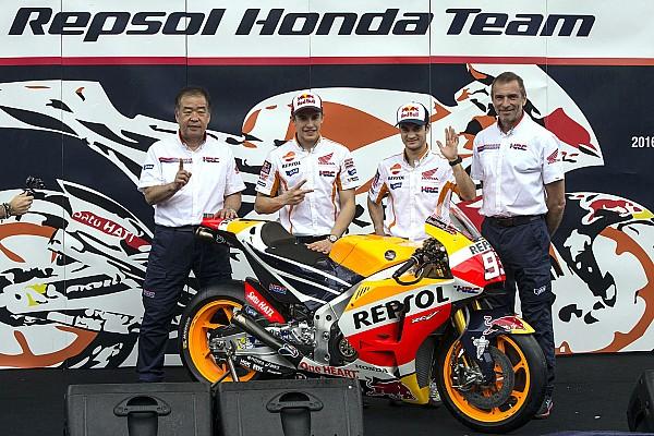 MotoGP Repsol Honda dévoile sa RC213V 2016 en Indonésie