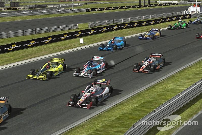 Live simracing: SRVN IndyCar-wedstrijd op Barber Motorsports Park