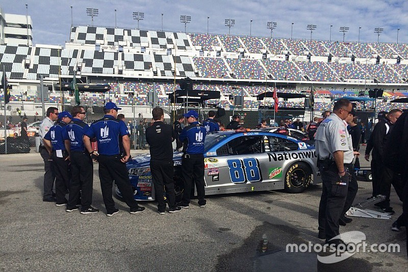 Dale Jr. and several others encounter tech issues prior to 500