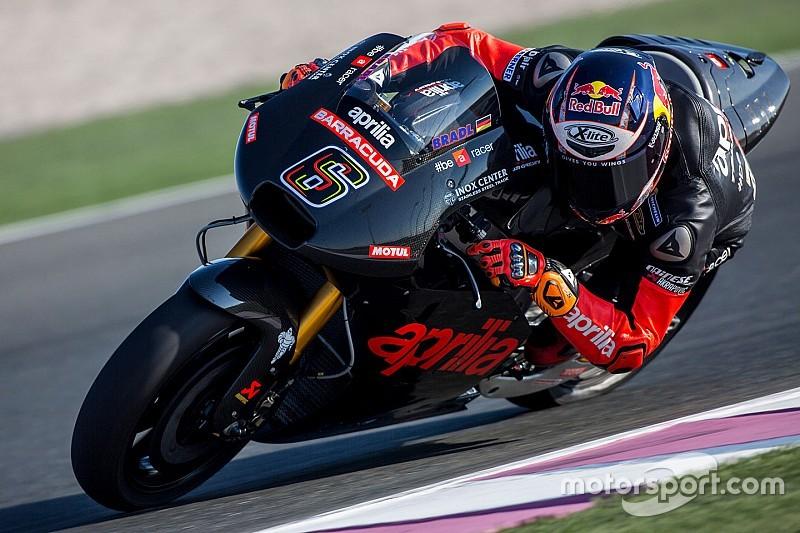 Aprilia mit erfolgreichem Test der neuen RS-GP für die MotoGP-Saison 2016