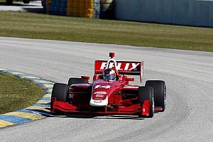 Indy Lights Actualités Felix Rosenqvist en Indy Lights chez Belardi