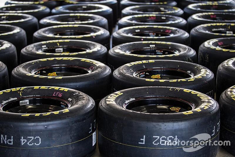 El nuevo paquete aerodinámico de NASCAR significó cambios para Goodyear
