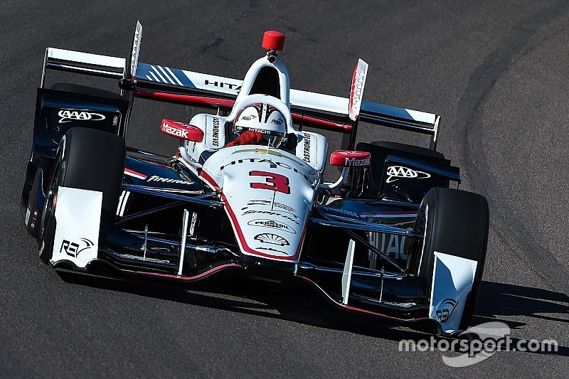Castroneves svetta nei test di Phoenix