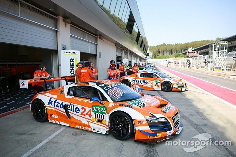 APR Motorsport startet mit zwei neuen Audi R8 und mit Laurens Vanthoor