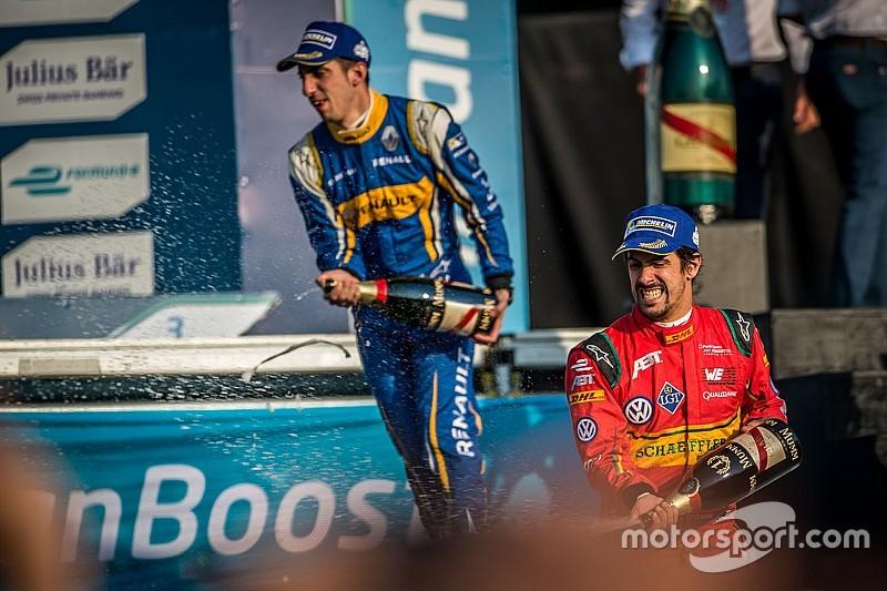 Sébastien Buemi, satisfecho con su liderato en Fórmula E