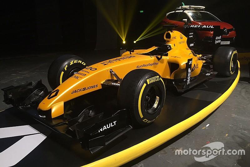 Renault svela la livrea definitiva 2016 della R.S.16