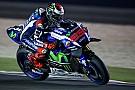 Lorenzo lidera dobradinha da Yamaha no TL1 em Losail