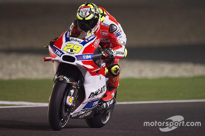 Iannone domina el FP2 con Márquez en el segundo lugar