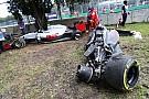 Alonso y Gutiérrez involucrados en aparatoso accidente