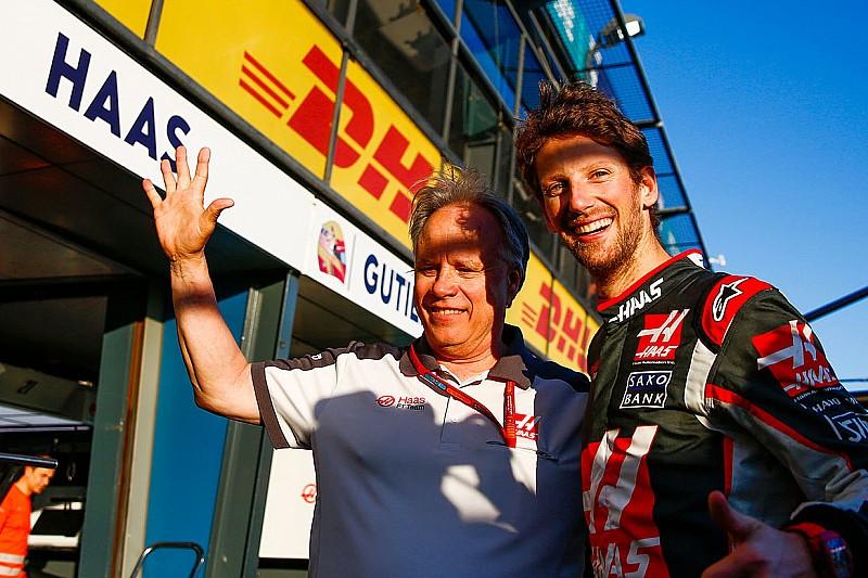 هاس يعترف بأن نتيجة سباق فريقه الأول في الفورمولا واحد فاقت التوقعات
