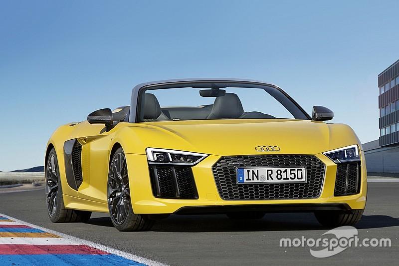 Audi R8 Spyder V10: knalgele cabrio is klaar voor de zomer