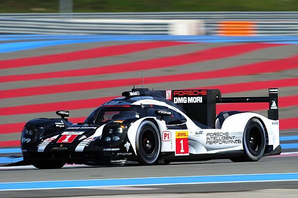 Porsche terminó el Prólogo al frente