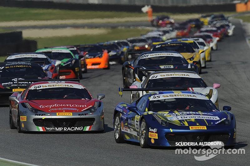 Ben 43 vetture in pista nel debutto del Challenge Europa a Monza