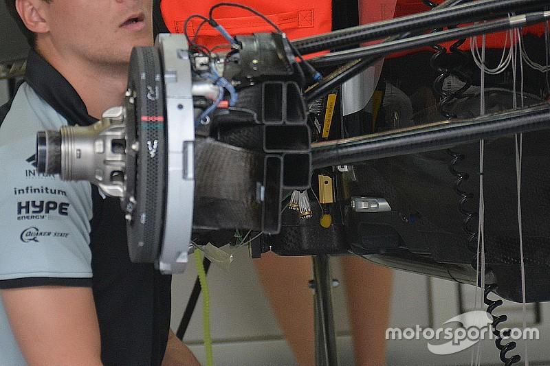 Breve análisis técnico: Force India presenta un eje delantero soplado