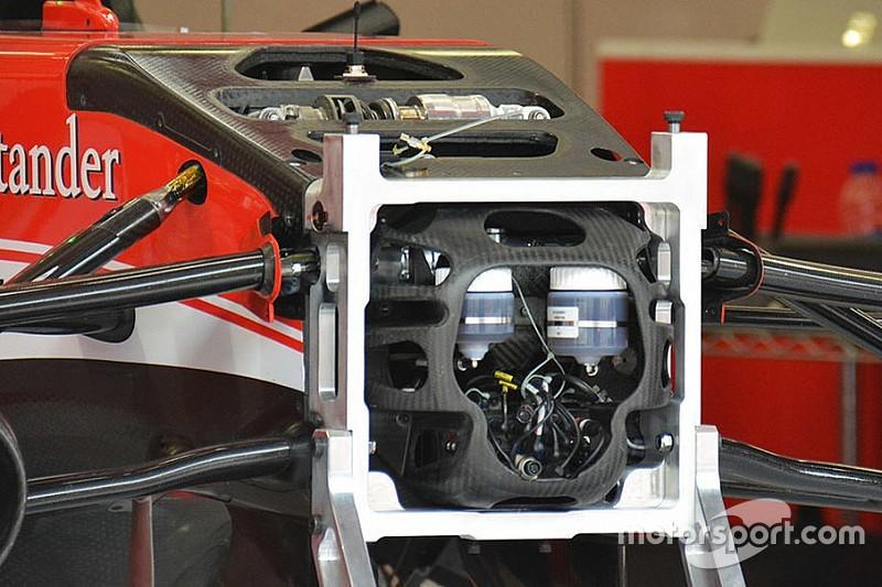 Ferrari: a cosa serve il... teschio di carbonio?