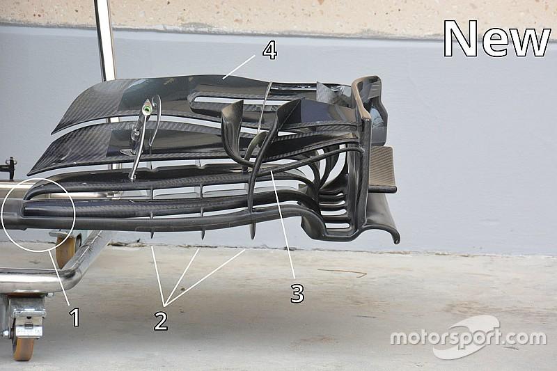 Технический брифинг: переднее крыло McLaren MP4-31