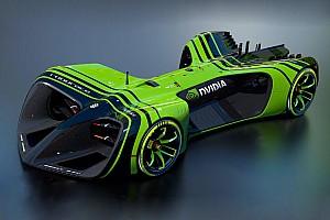 Roborace News RoboRace gibt Größe und Motorisierung der Fahrzeuge bekannt