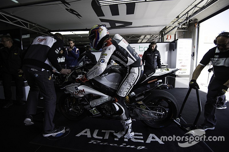 Due giorni di test a Jerez per l'Althea BMW Racing Team