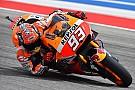 Marquez imprendibile: è pole ad Austin. Prima fila per Rossi