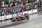 In beeld: Coulthard demonstreert Red Bull F1-wagen in Oman