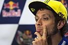 Rossi neemt schuld van crash volledig op zich