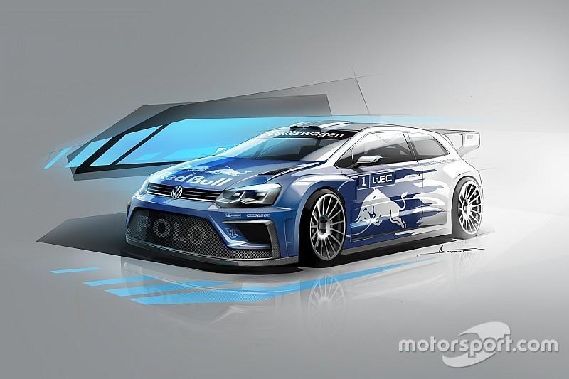 Volkswagen revela la primera imagen del Polo 2017 para el WRC