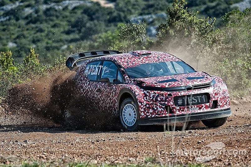 Citroen приступила к испытаниям C3 WRC
