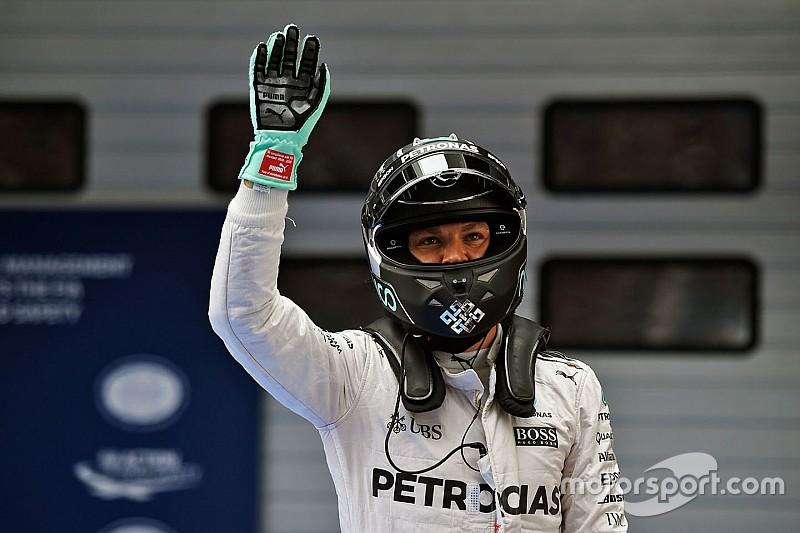 """Rosberg: """"Strategia perfetta e auto velocissima"""""""